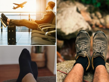 Merino Socken Ideal für das Reisen Wandern und ZuHause